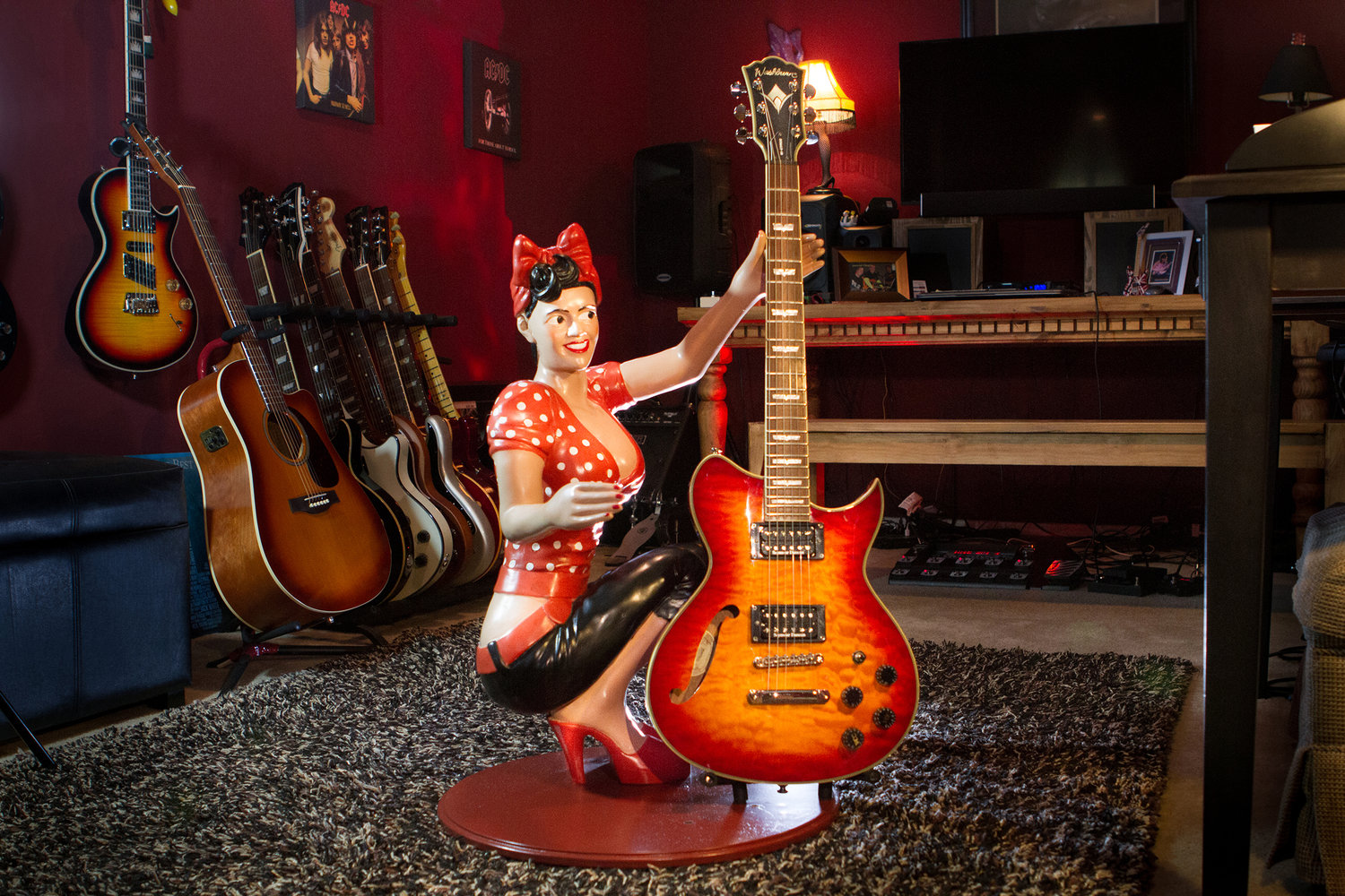 Novelty Guitar Stands